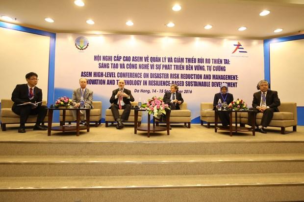 Les pays de l'ASEM cooperent dans la resilience aux catastrophes naturelles hinh anh 1