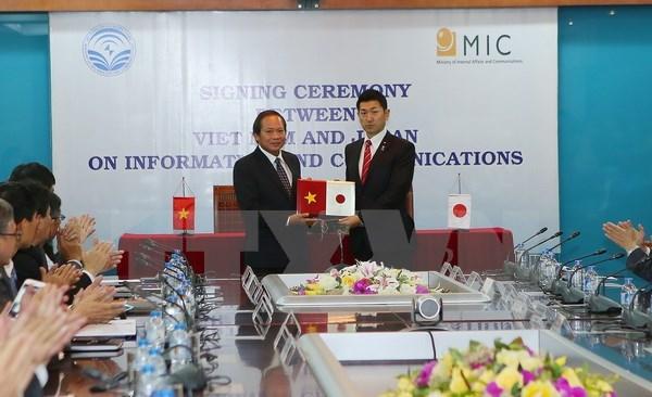 Dialogue sur la politique relative a la TIC Vietnam-Japon hinh anh 1