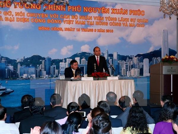 Ouverture d'une ligne aerienne Ho Chi Minh-Ville-Hongkong par VietjetAir hinh anh 1