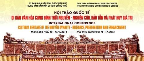 Conference internationale sur le patrimoine culturel de la cour des Nguyen hinh anh 1