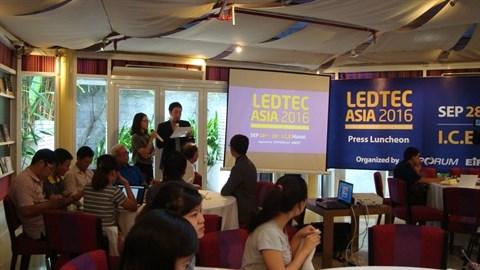 Bientot la 5e expo sur les LED/OLED et les equipements d'eclairage a Hanoi hinh anh 1