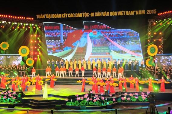 Plethore d'activites a la Semaine de grande solidarite des ethnies vietnamiennes hinh anh 1