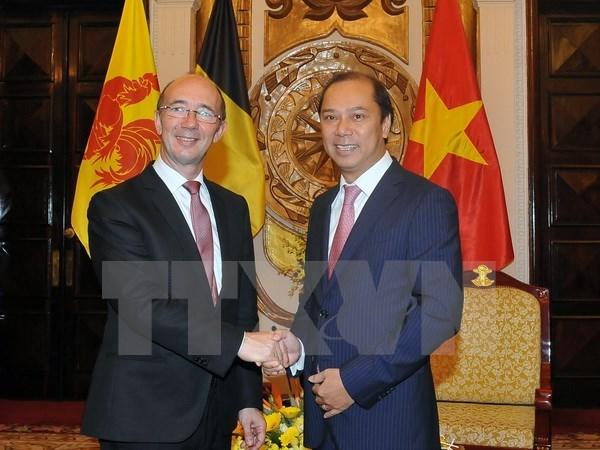 Wallonie-Bruxelles promeut ses projets de cooperation au Vietnam hinh anh 1