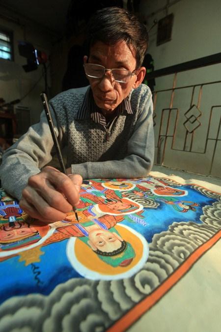 Les estampes populaires de Hang Trong hinh anh 2
