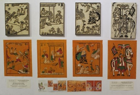 Les estampes populaires de Kim Hoang hinh anh 1