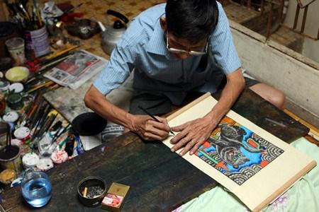 Les estampes populaires de Hang Trong hinh anh 3