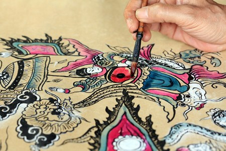 Les estampes populaires de Hang Trong hinh anh 4