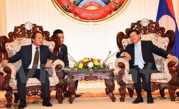 Le Laos souhaite cooperer avec le Vietnam dans la cybersecurite hinh anh 1