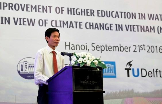Changement climatique: aide neerlandaise pour la formation des ressources humaines hinh anh 1