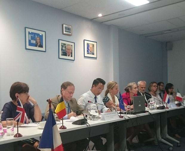 Les pays europeens assistent le Vietnam dans la resilience au changement climatique hinh anh 1