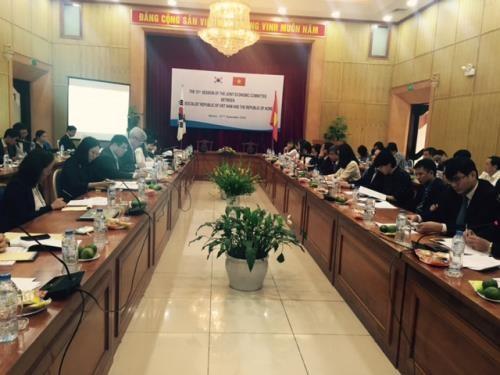 Vietnam et R. de Coree discutent de mesures pour promouvoir le commerce hinh anh 1