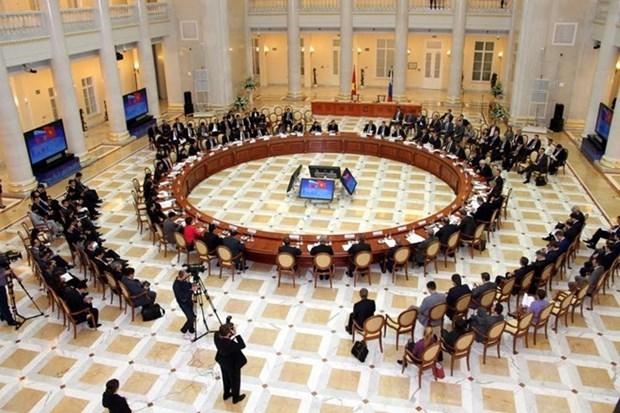 Reunion du comite intergouvernemental Vietnam-Russie a Saint-Petersburg hinh anh 1