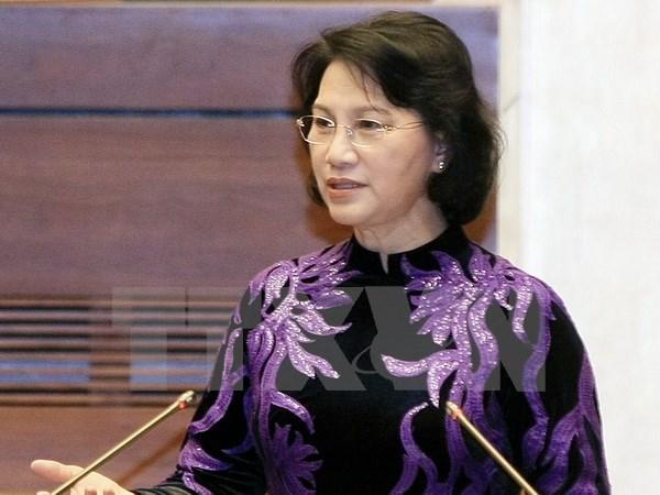 La presidente de l'AN visitera le Laos, le Cambodge et le Myanmar et participera a l'AIPA-37 hinh anh 1