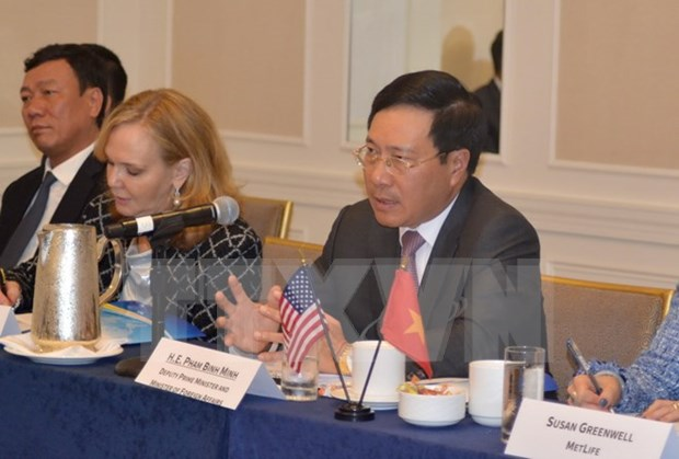 Activites du vice-PM Pham Binh Minh en marge de la 71e session de l'AG de l'ONU hinh anh 2