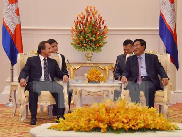 Vietnam-Cambodge : cooperation accrue dans la communication et les echanges d'informations hinh anh 1