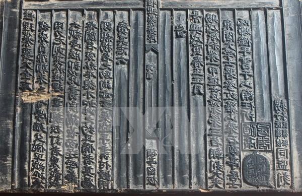 Des tablettes de bois du Vietnam inscrites au registre de l'UNESCO hinh anh 1