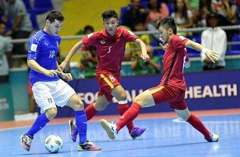 Coupe du monde de futsal : le Vietnam en huitieme ! hinh anh 2