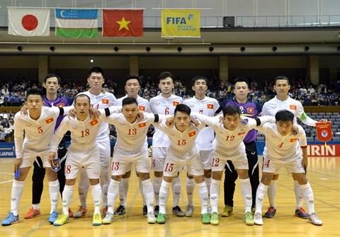 Coupe du monde de futsal : le Vietnam en huitieme ! hinh anh 1