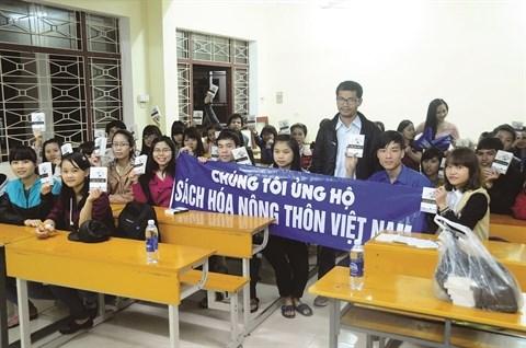 Un Vietnamien recompense pour son projet d'alphabetisation hinh anh 1