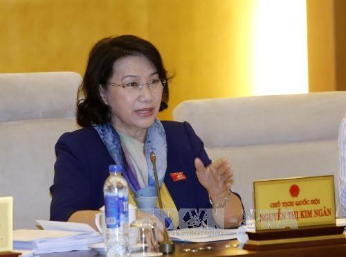 Vietnam et Cambodge resserrent les relations de cooperation entre leurs organes legislatifs hinh anh 1