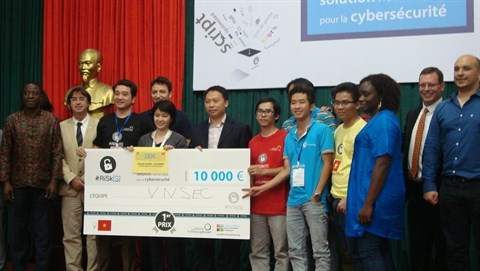 Cybersecurite : l'equipe VNSEC, gagnante du concours #RiSk[Solutions] hinh anh 2