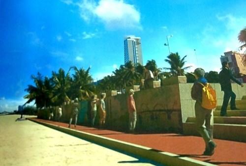 Da Nang va transformer sa digue maritime en espace artistique hinh anh 1
