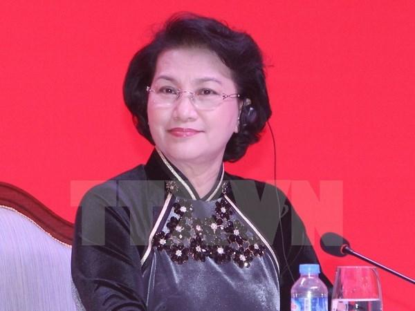 La presse cambodgienne salue la visite de la presidente de l'AN du Vietnam hinh anh 1