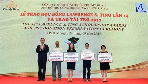 Le Fonds Lawrence S. Ting œuvre au developpement du Vietnam hinh anh 1