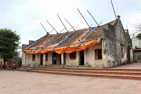 Monuments historiques : la situation se degrade a Hanoi hinh anh 1