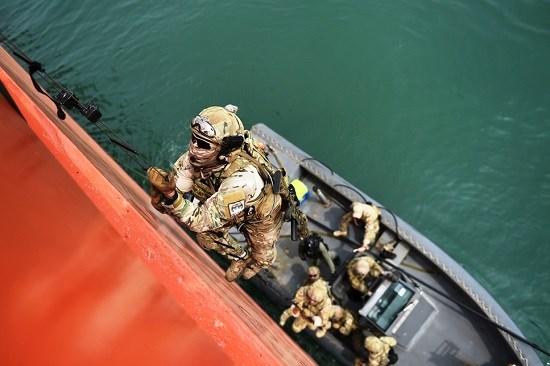Ouverture de l'exercice naval multilateral Deep Sabre 2016 a Singapour hinh anh 1