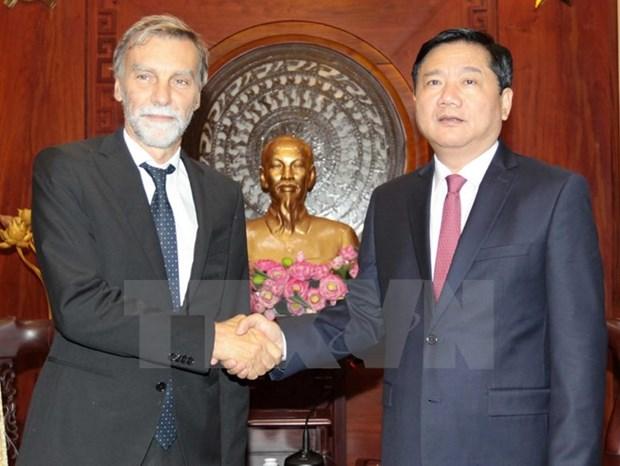 Ho Chi Minh-Ville prete a intensifier sa cooperation avec les entreprises italiennes hinh anh 1