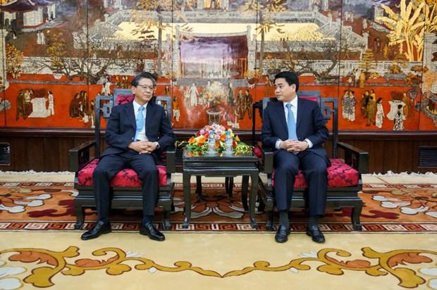 Le Japon pret a aider Hanoi a regler ses embouteillages hinh anh 1