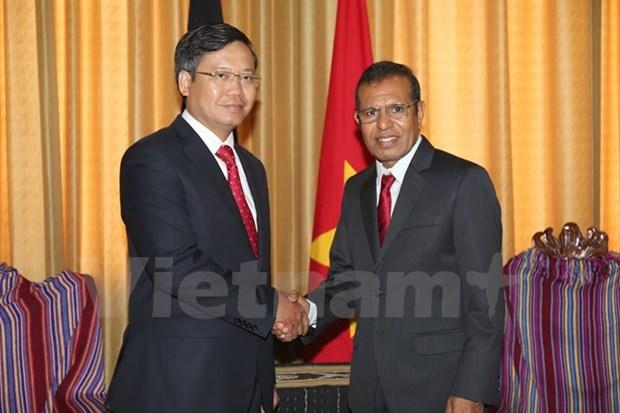 Le Timor-Leste apprecie son amitie avec le Vietnam hinh anh 1