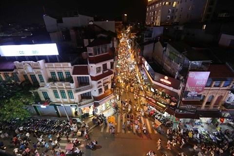 Hanoi elargit son espace pietonnier pour la 3e fois hinh anh 1