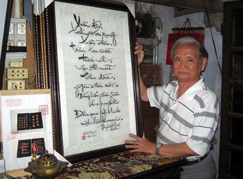 Le Van Kinh, le symbole de la broderie vietnamienne hinh anh 2