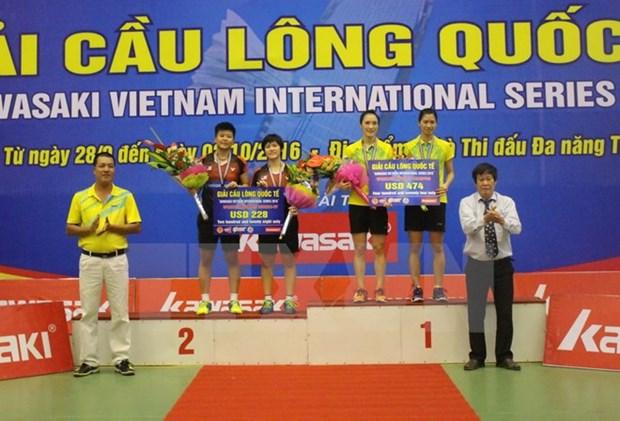 Tournoi international de badminton Kawasaki : le Vietnam puissance 3 hinh anh 1