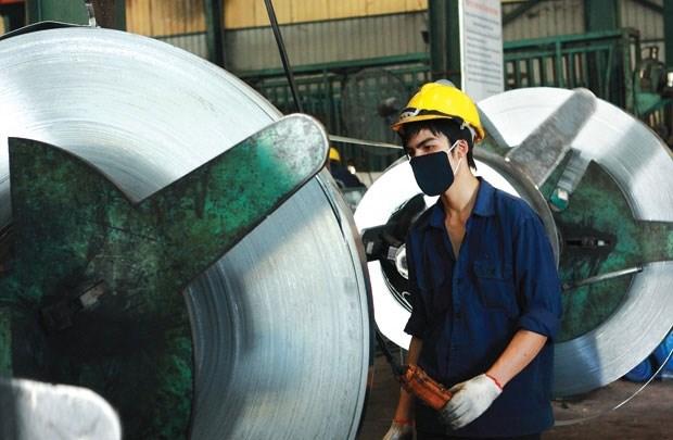 L'indice de production industrielle en hausse de 7,6% en septembre hinh anh 1