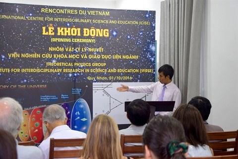 Lancement du groupe d'etudes de physique theorique a Binh Dinh hinh anh 1