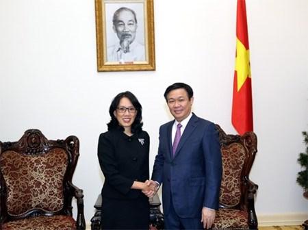 Un vice-PM vietnamien recoit la directrice generale de Central Group hinh anh 1
