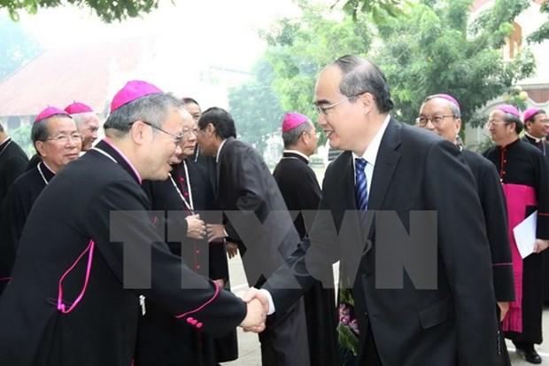 Ouverture du 8e congres du Conseil episcopal du Vietnam hinh anh 1