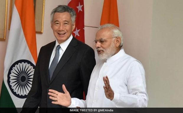 Inde et Singapour decident d'etablir un dialogue economique hinh anh 1