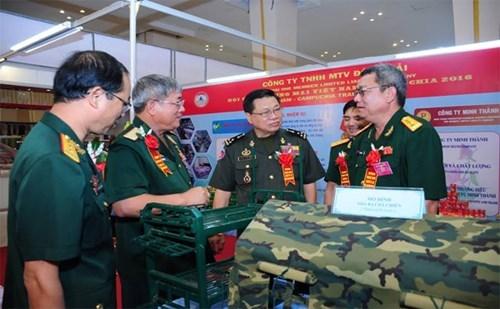 La foire commerciale du Vietnam 2016 au Cambodge hinh anh 1