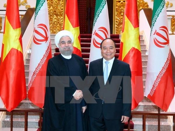 Le Vietnam et l'Iran scellent une cooperation dans divers domaines hinh anh 1
