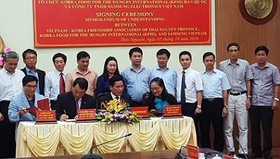 Un centre de cooperation Vietnam-R. de Coree voit le jour a Thai Nguyen hinh anh 1