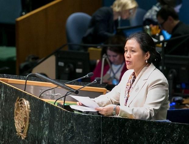 Le Vietnam exhorte l'ONU a edifier un ordre mondial base sur le droit hinh anh 1
