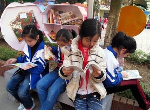 Des bibliotheques vertes pour faire germer l'amour des livres hinh anh 1