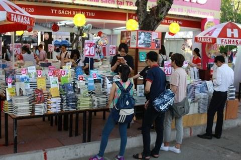 La lecture de plus en plus populaire a Ho Chi Minh-Ville hinh anh 1