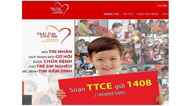 Operation chirurgicale gratuite pour 3.000 enfants atteints de cardiopathie hinh anh 1