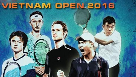 Tennis: Tournoi international Vietnam Open 2016 a Ho Chi Minh-Ville hinh anh 1