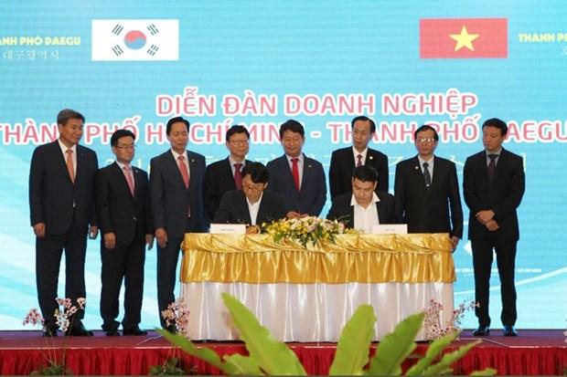 Forum d'affaires Ho Chi Minh-Ville-Daegu (R. de Coree) hinh anh 1